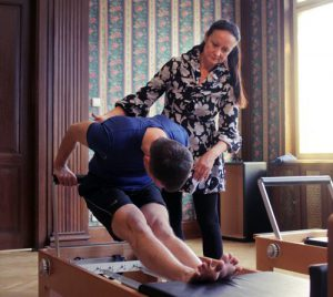 Muži a Pilates